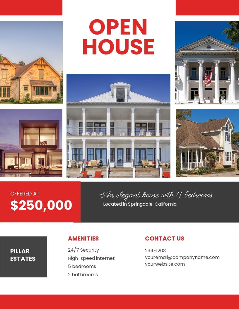 Free Broker Open House Flyer Template.jpe