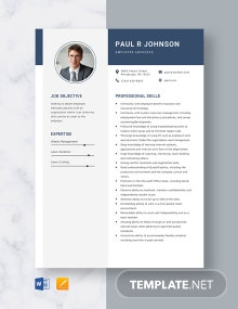 Employee Advocate Resume Template