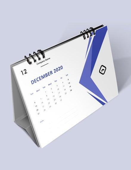 Company Event Desk Calendar Download