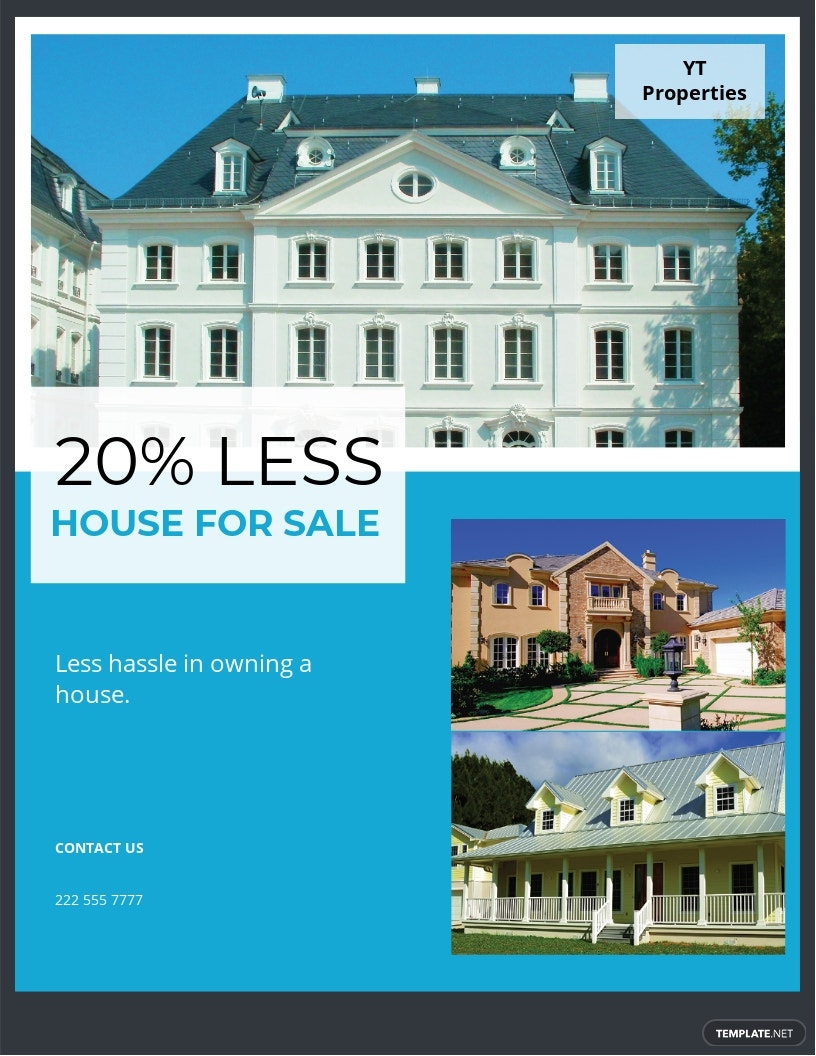House for Sale Flyer Template.jpe