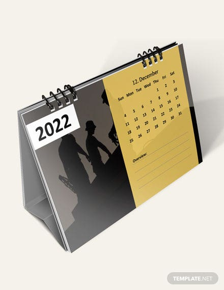 Construction Project Desk Calendar Download