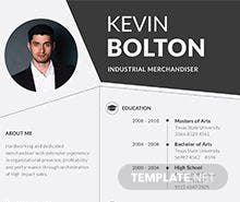 Merchandiser Resume Template