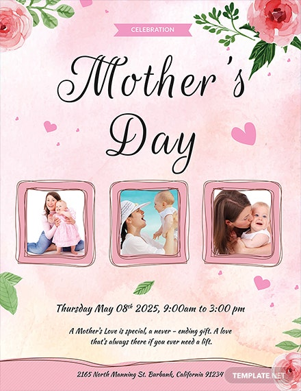 mother s day celebration flyer 1x