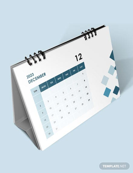 Project Event Desk Calendar Download