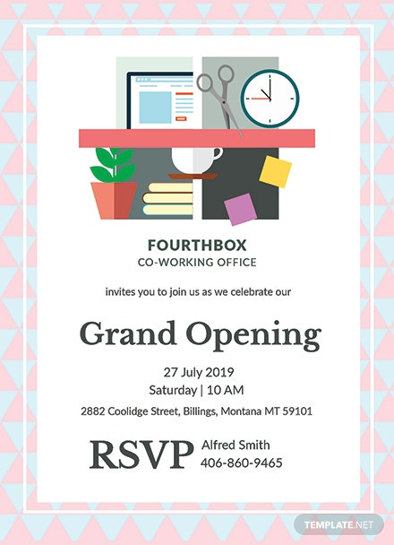 Free office opening invitation card template download 344 free office opening invitation card template download 344 invitations in illustrator psd word publisher apple pages template m4hsunfo