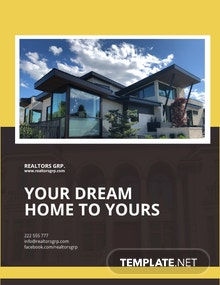 Free Real Estate Company Flyer Template