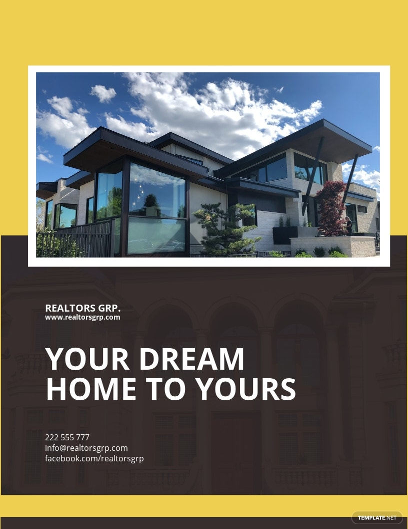 Real Estate Company Flyer Template