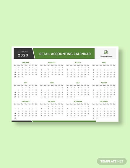Retail Accounting Desk Calendar Download