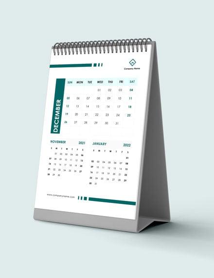 Staff Training Desk Calendar Download