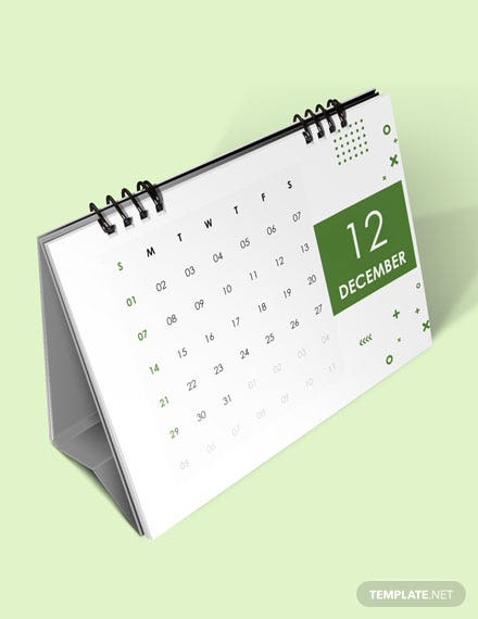 Yearly Accounting Desk Calendar Download