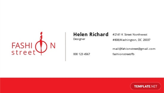Fashion Business Card Template.jpe