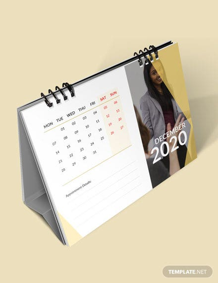 Business Appointment Desk Calendar Download