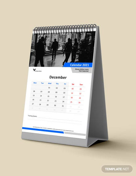 Business Training Desk Calendar Download
