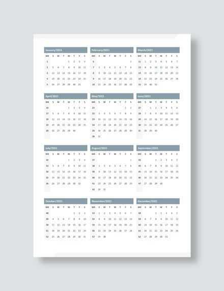 Marketing Editorial Desk Calendar Download