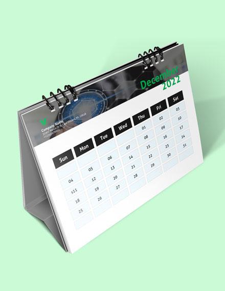 Sample Marketing Desk Calendar Download