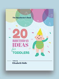 Children's Birthday Book Cover Template