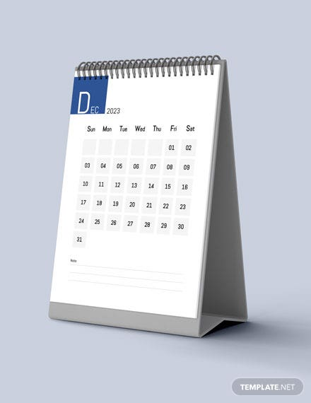 Social Media Marketing Desk Calendar Download