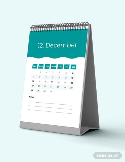 Marketing Project Desk Calendar Download