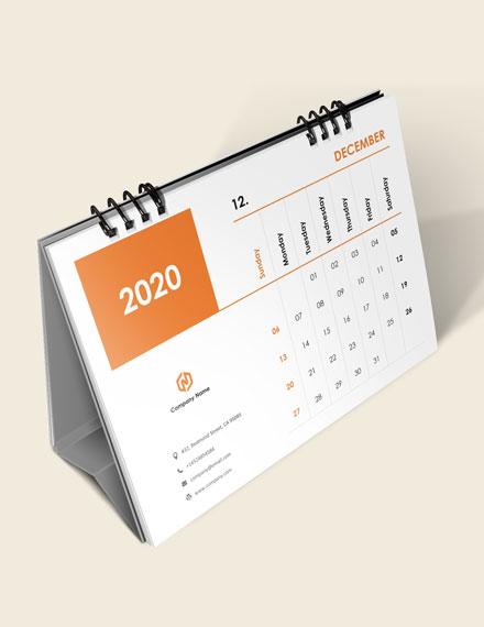 Accounting Desk Calendar Download