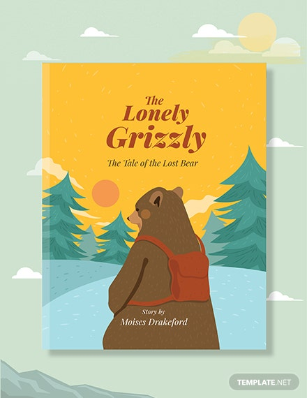Free Story Book Cover Template
