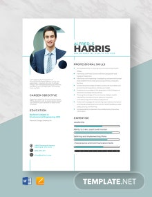 Environmental Health Officer Resume Template