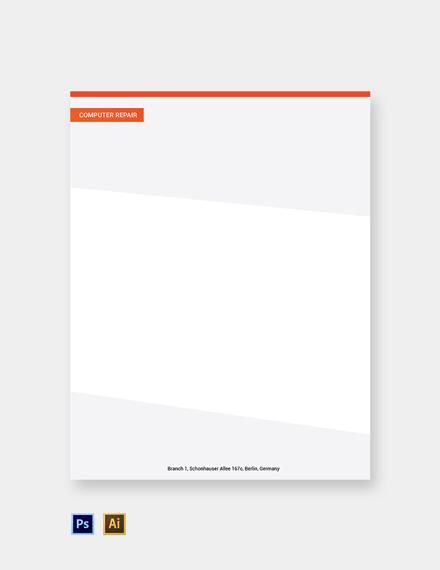 Free Computer Repair Letterhead Template
