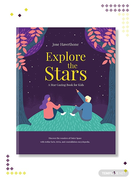 Children's Education Book Cover Template