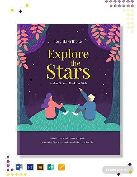 Free Children's Education Book Cover Template