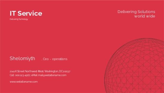IT Service Business Card Template.jpe
