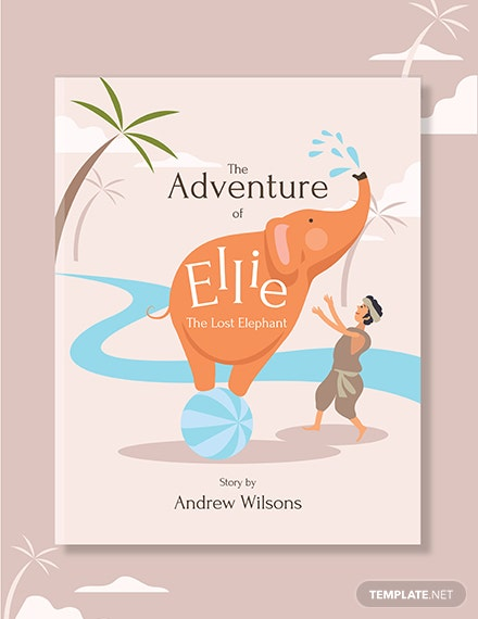 Free Editable Kid's Book Cover Template