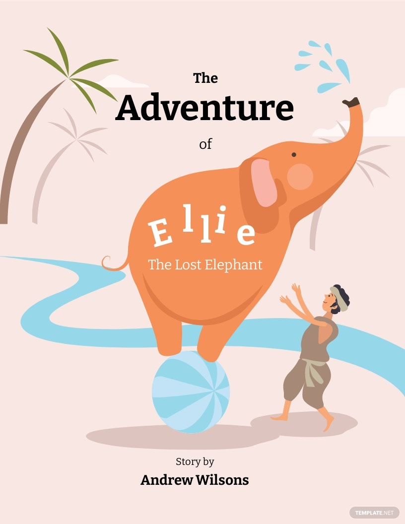 Editable Kid's Book Cover Template