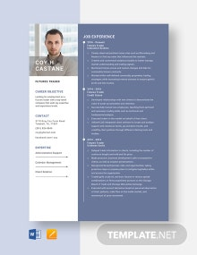 Futures Trader Resume Template