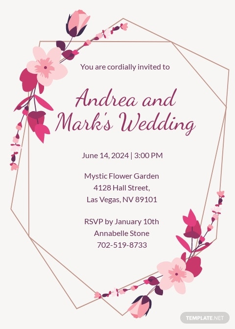 Free Sample Wedding Invitation Template.jpe
