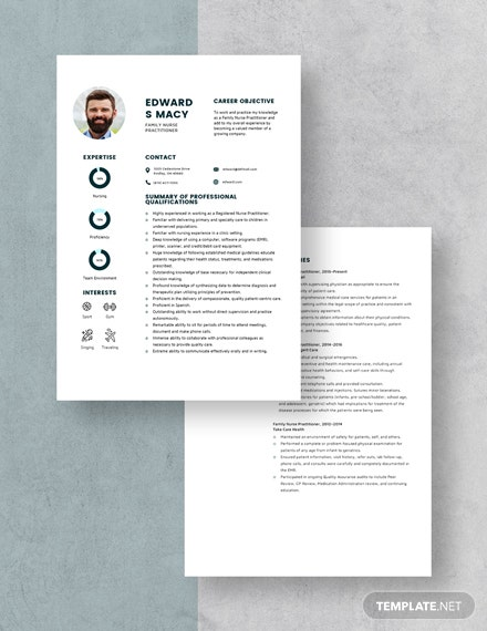Family Nurse Practitioner Resume Download