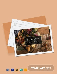 Free Sample Postcard Template
