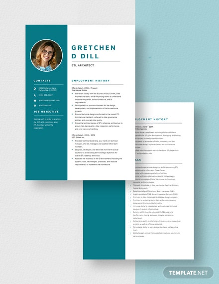 ETL Architect Resume Download