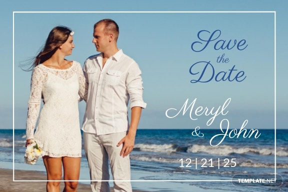 Free Save the Date Postcard Template