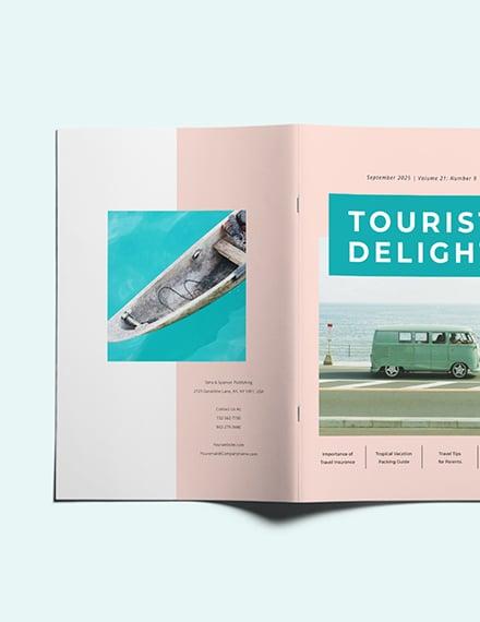 Customise Commercial Travel Magazine