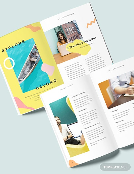 Sample Creative Travel Magazine