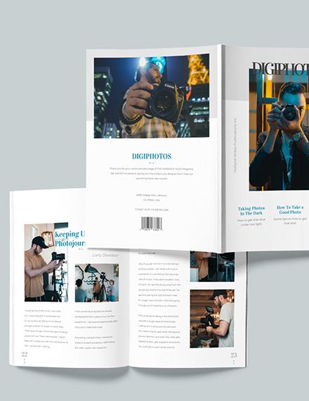 Customise Digital Photographer Magazine