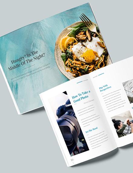 Sample Digital Photographer Magazine