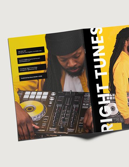 Customise Digital Music Magazine