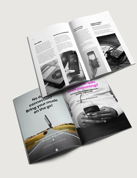Sample Digital Music Magazine