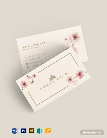 Elegant Vintage Business Card Template