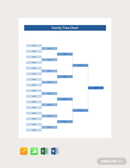 Free Family Tree Chart Template