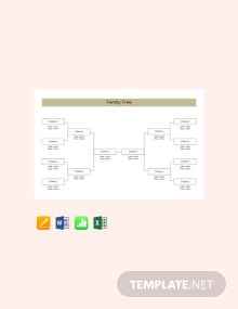 Free Basic Family Tree Template