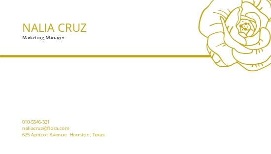 Gold Business Card Template 1.jpe
