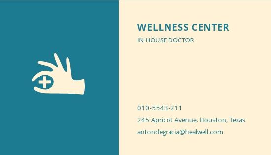 Health Business Card Template 1.jpe
