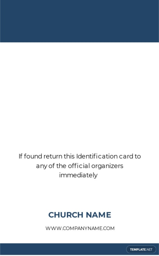 Blank Church ID Card Template 1.jpe