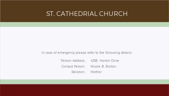 Clergy Church ID Card Template 1.jpe